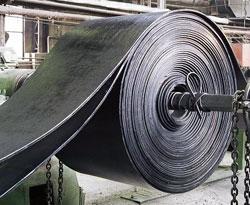 Рулон листовой резины, из которой изготавливаются техпластины ТМКЩ